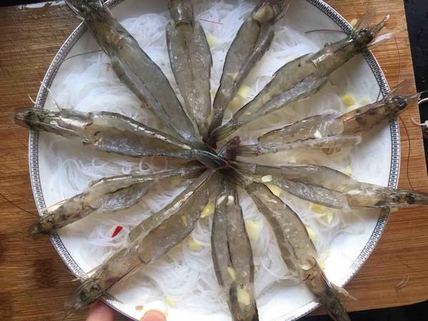 粉丝蒸虾怎么做