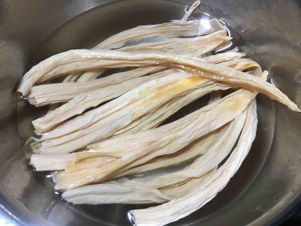 【富足一生】肉沫豆豉蒸腐竹的做法大全