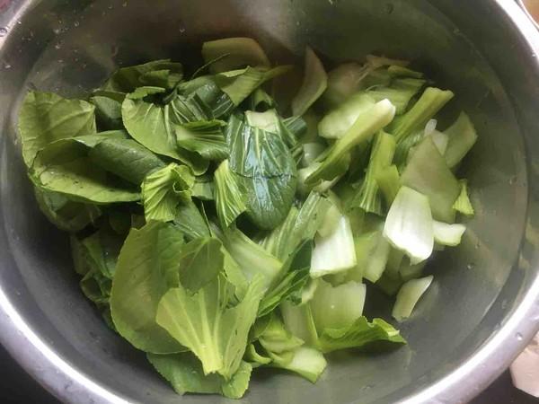 剁辣椒炒小青菜的家常做法