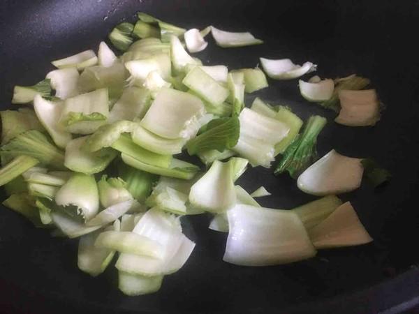 剁辣椒炒小青菜的简单做法