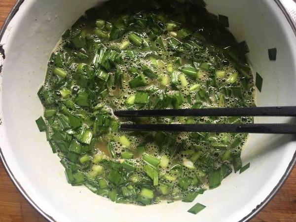 韭菜煎蛋的简单做法