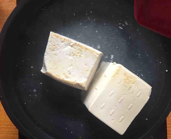 煎豆腐的简单做法