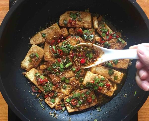 煎豆腐怎么煸
