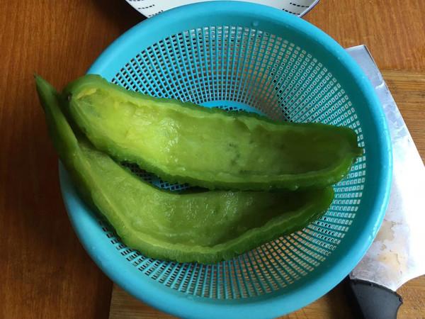 剁椒肉末抱苦瓜怎么吃