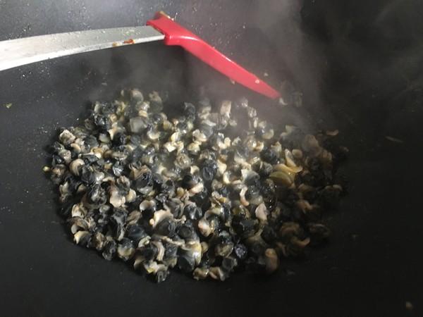 韭黄紫苏炒螺肉怎么炒