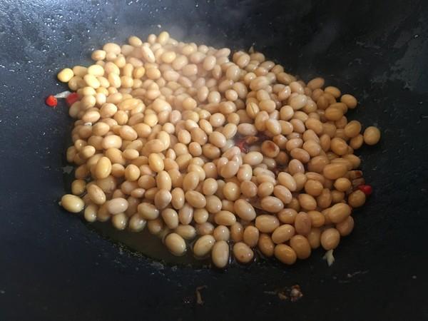 黄豆茄子焖饭怎样煸