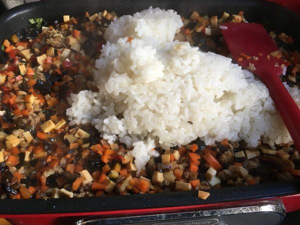 糯米饭豆皮怎么炒