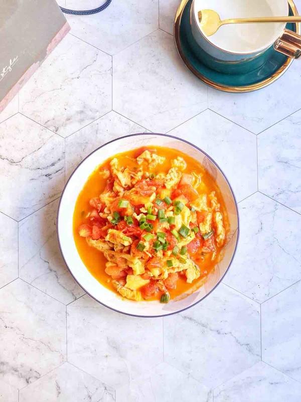 番茄鸡蛋成品图