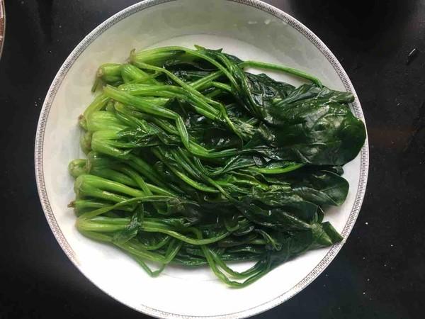 蚝油菠菜怎么吃