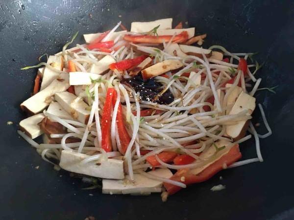 韭菜豆芽炒香干怎么吃