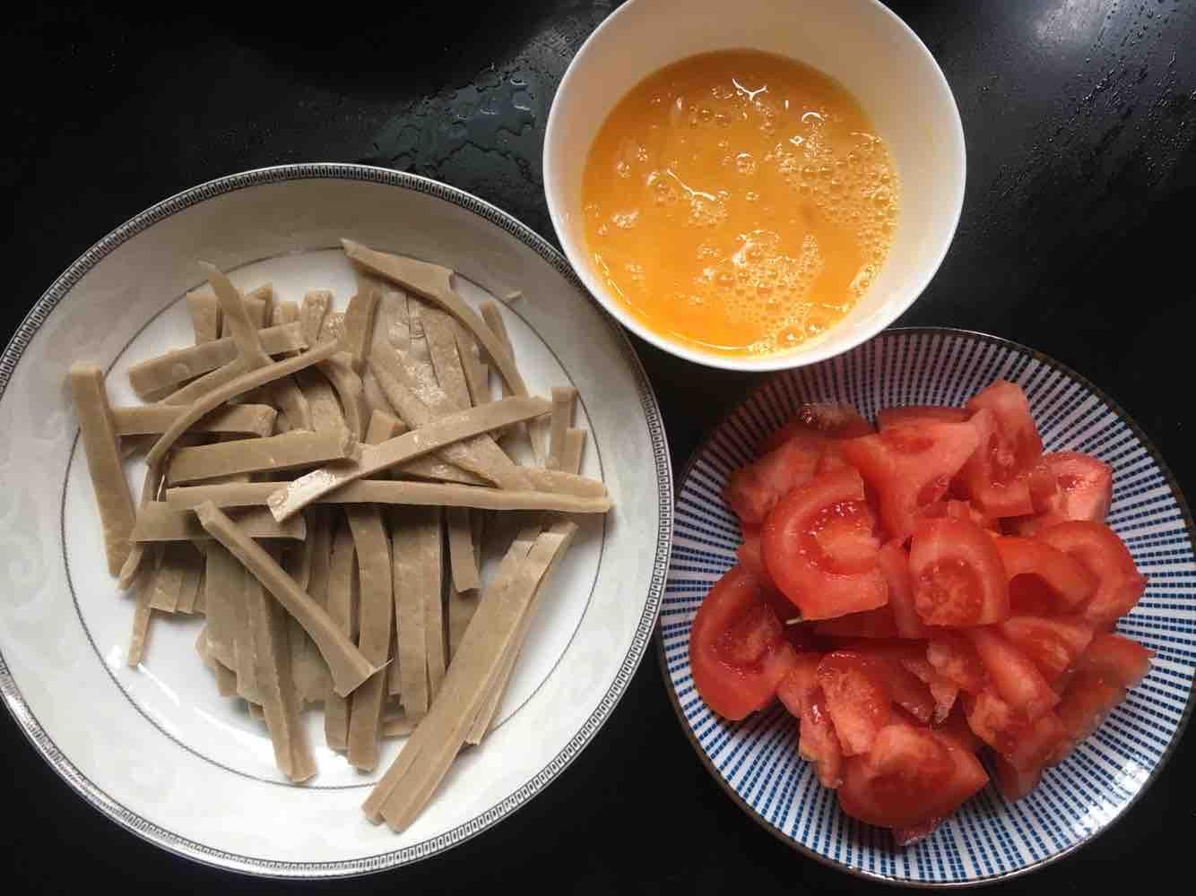 番茄鸡蛋炒筱面怎么吃