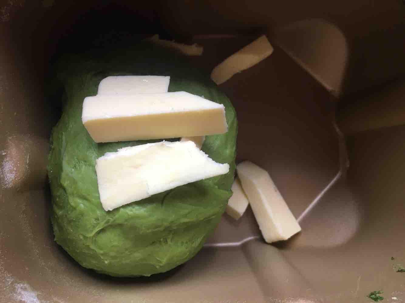 抹茶麻薯欧包的做法图解