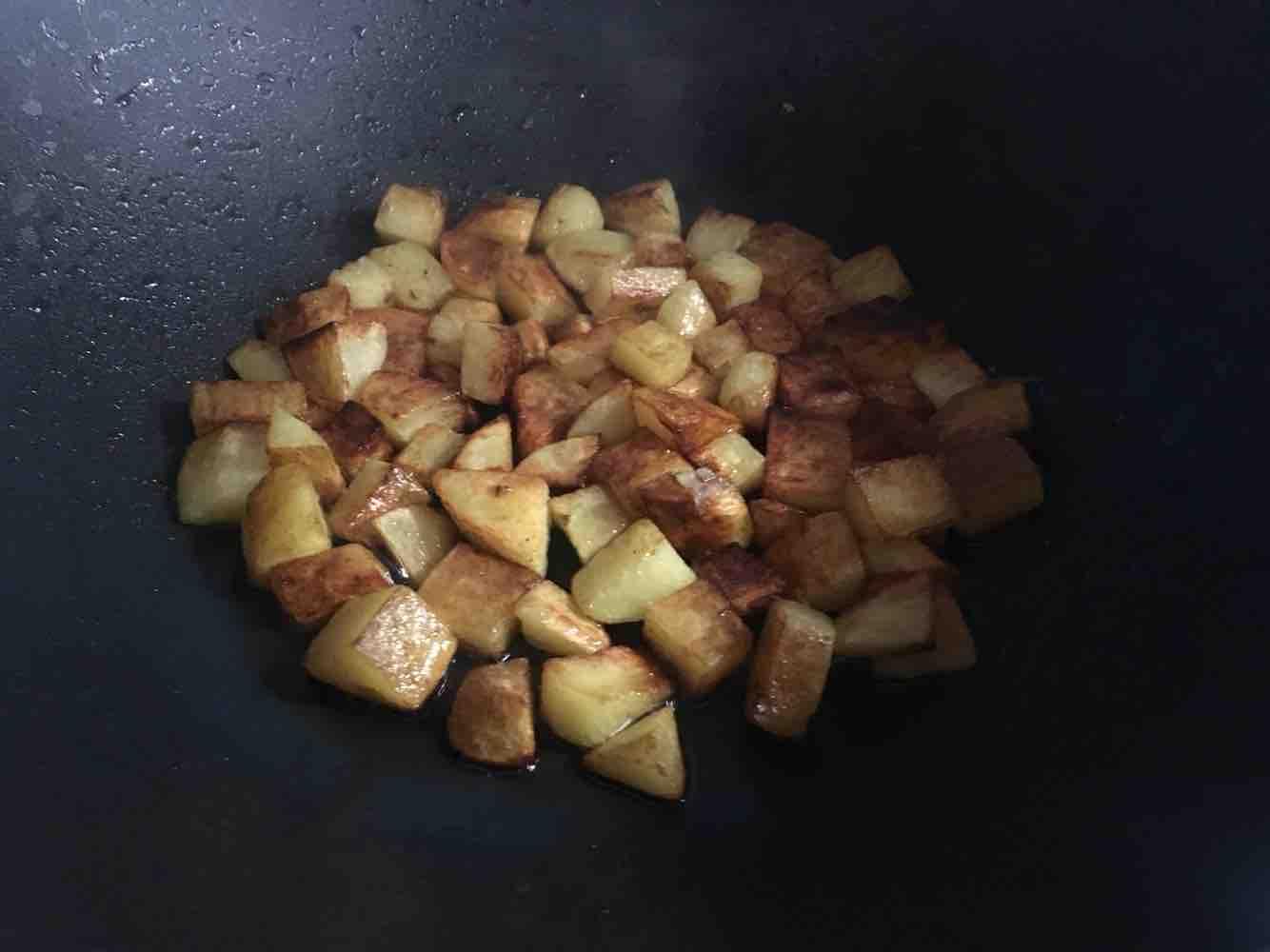 火腿土豆丁的简单做法