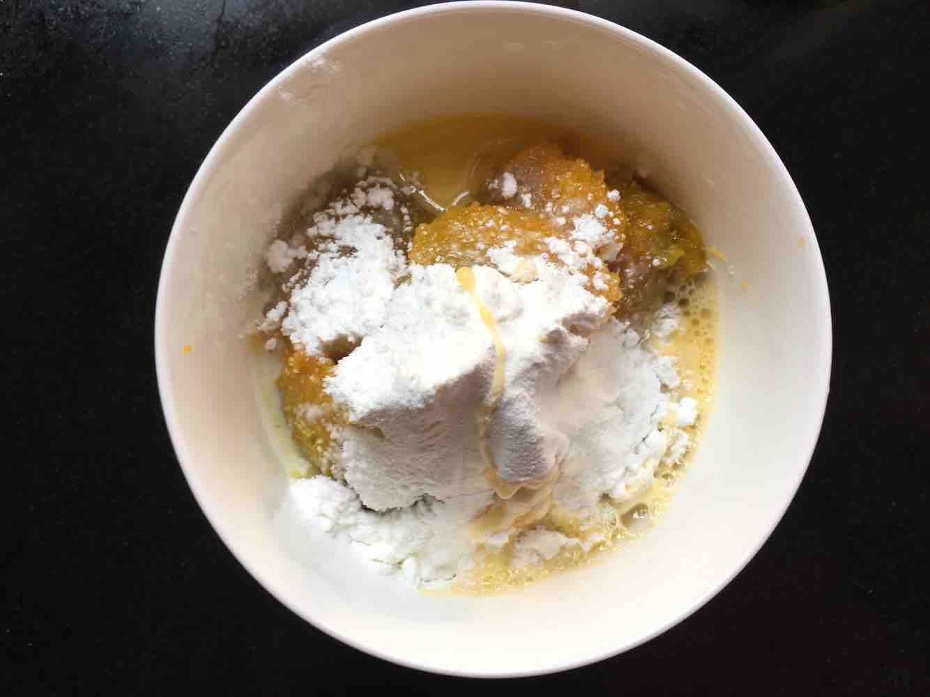 奶香南瓜布丁蛋挞的做法图解