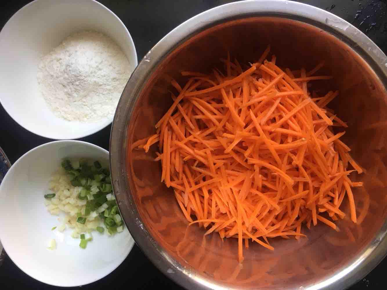 粉蒸胡萝卜丝的做法大全