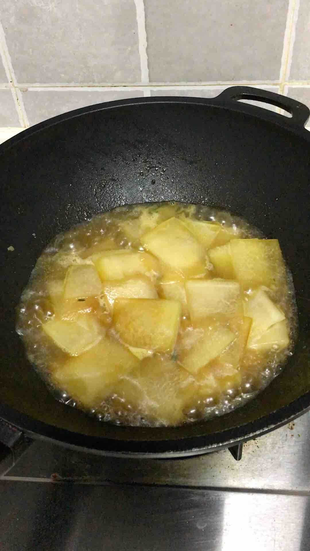 红烧冬瓜的简单做法
