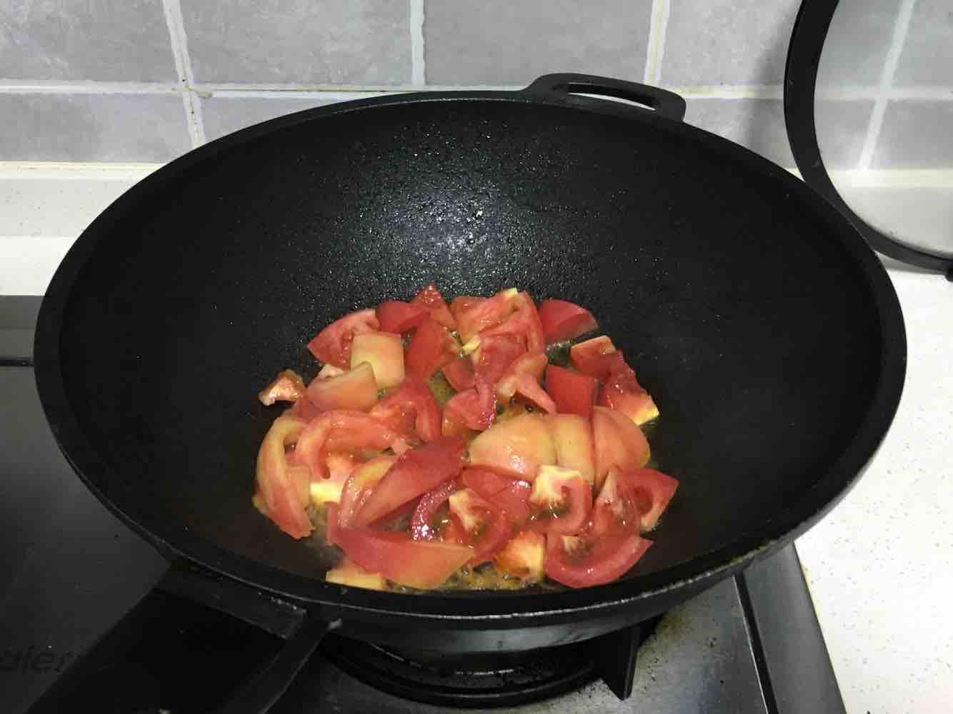 西葫芦炒番茄的做法图解