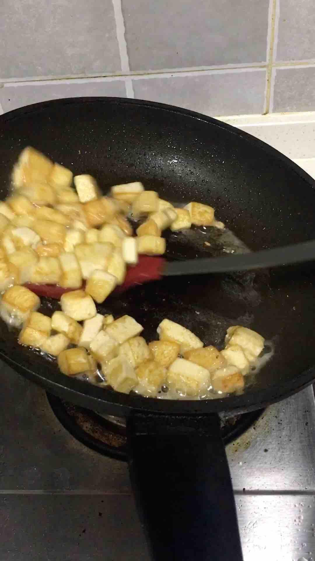 豆腐鸡蛋的家常做法