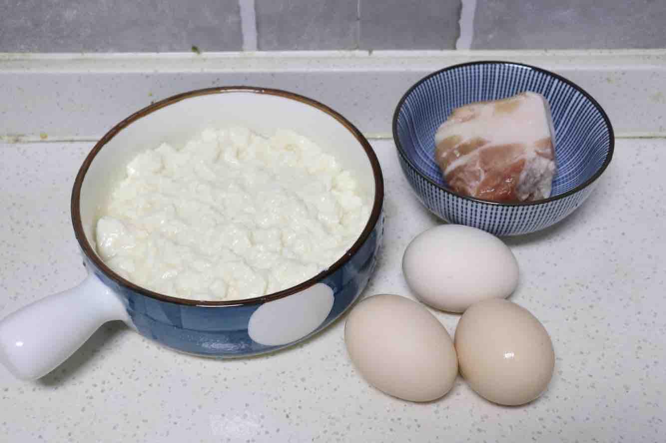 肉末豆腐蒸蛋羹的做法大全