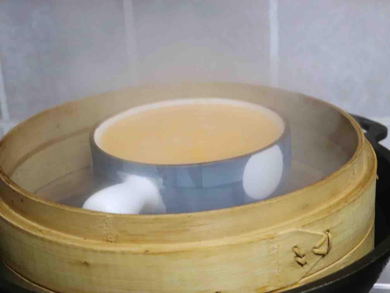 肉末豆腐蒸蛋羹的家常做法