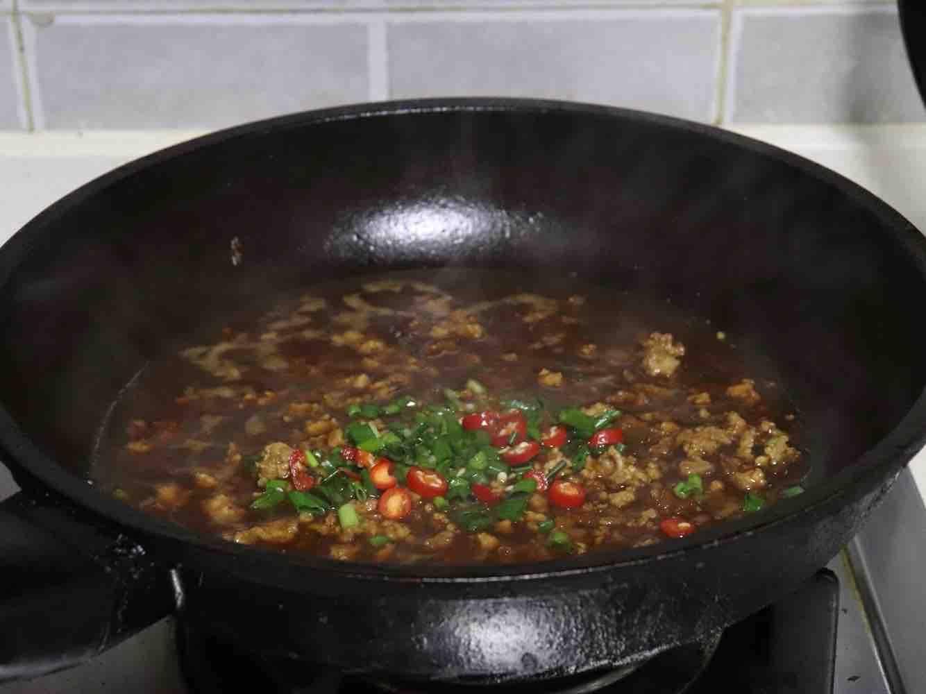 肉末豆腐蒸蛋羹怎么煮