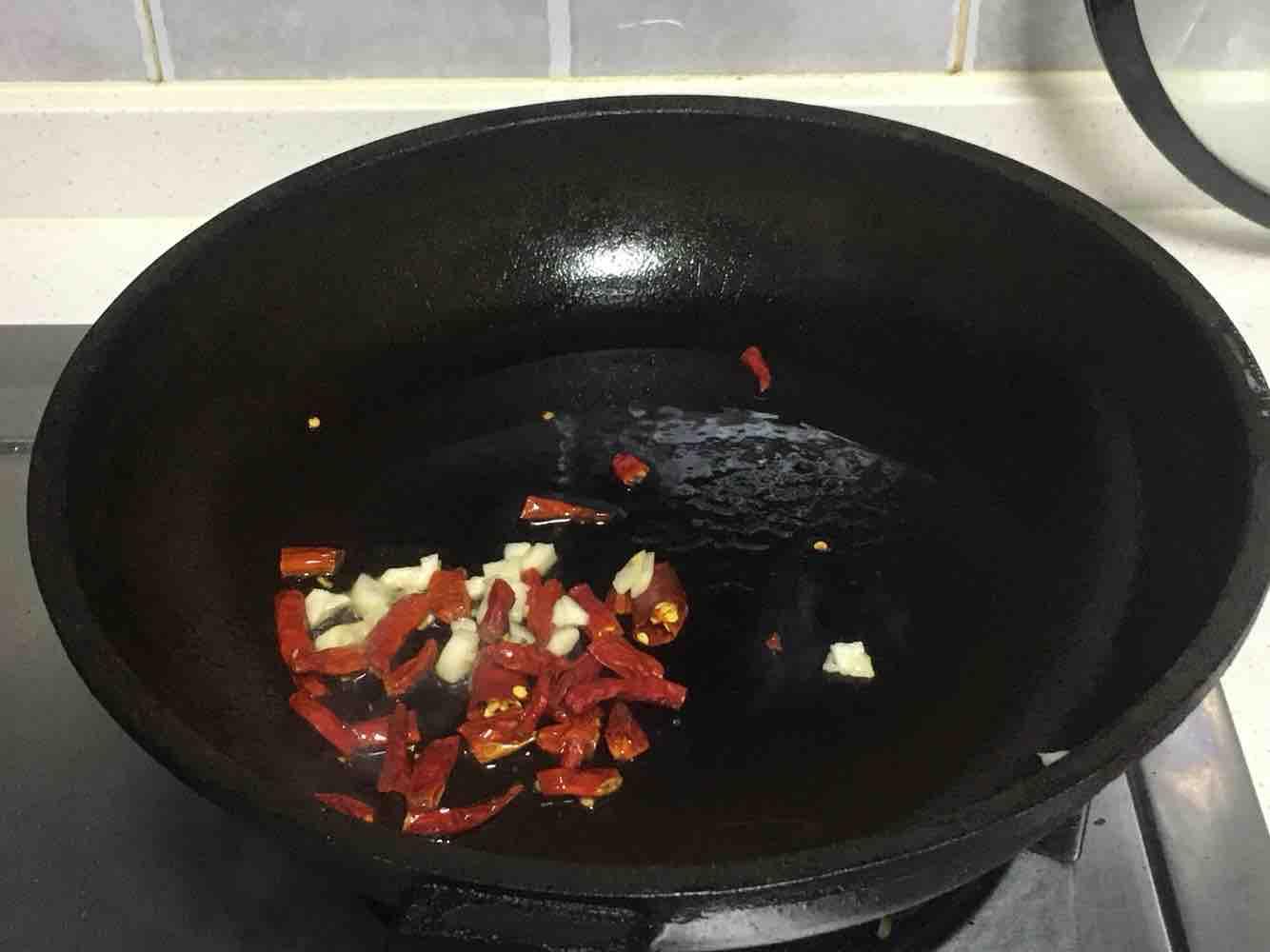 清炒三蔬的简单做法