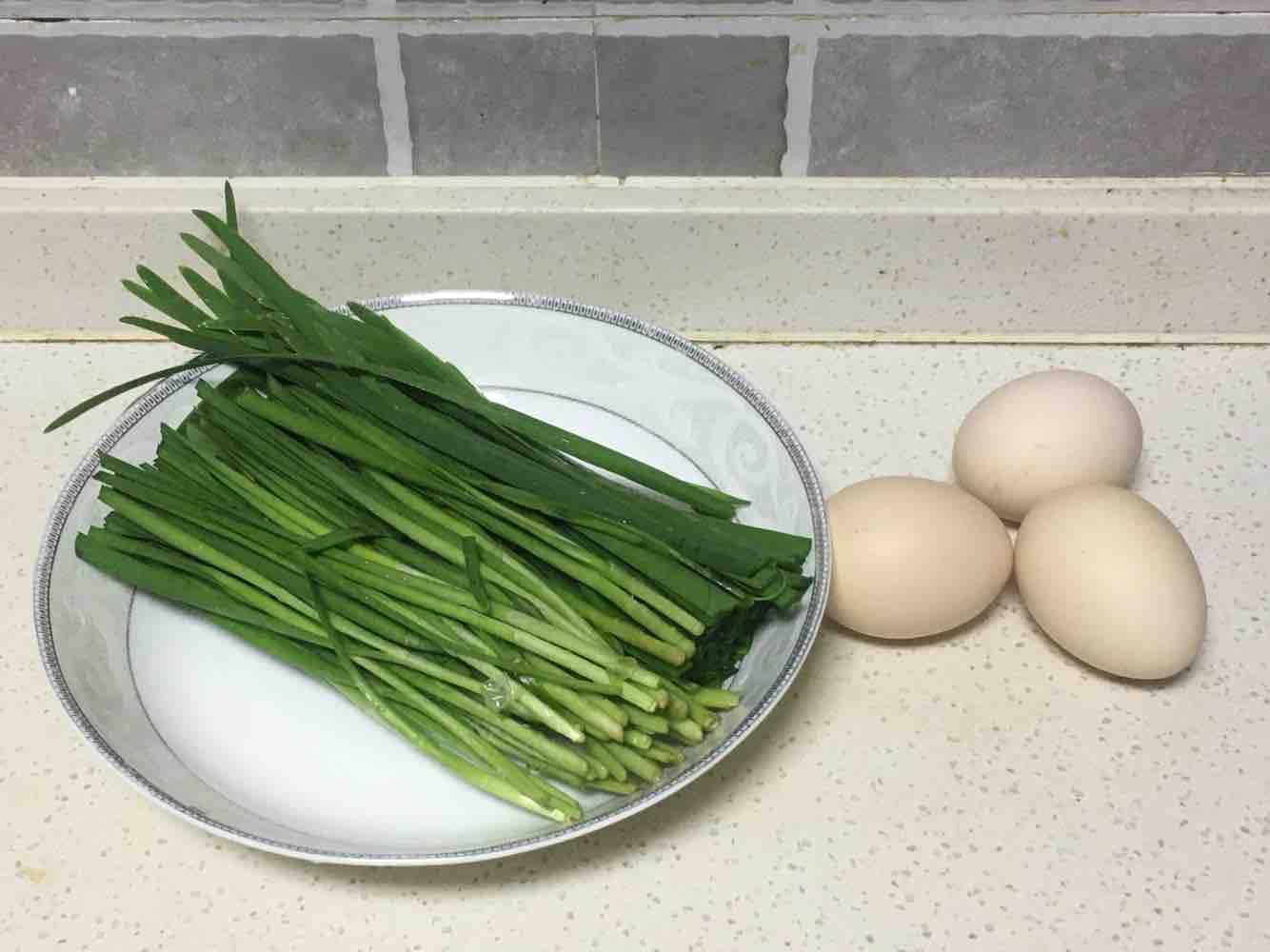 韭菜鸡蛋馅饼的家常做法