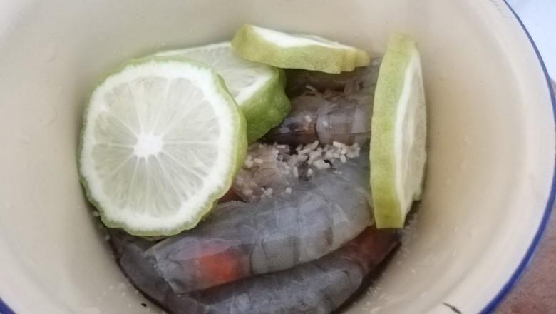 美极柠檬虾的家常做法
