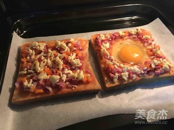 太阳蛋吐司披萨怎么炒