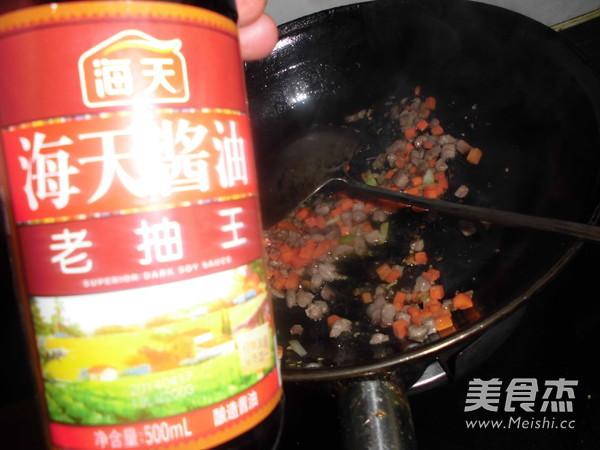 肉丁玉米粒胡萝卜烧豆腐怎么做