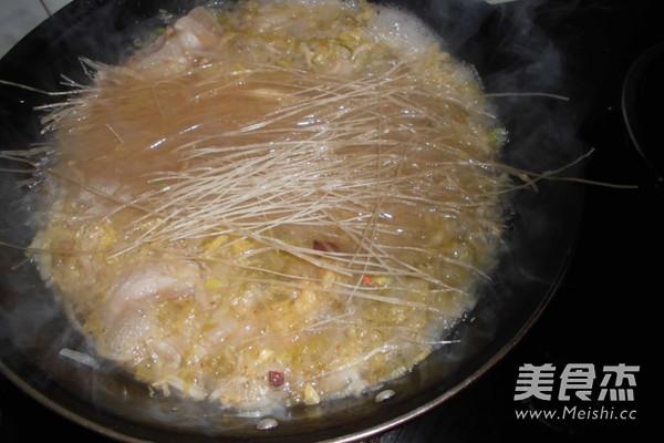 酸菜汆白肉怎么炒