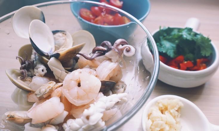 泰式凉拌海鲜粉的做法图解