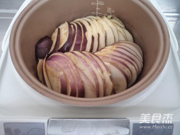 电饭煲炖茄子的家常做法