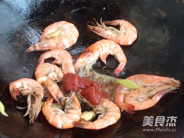 鲜虾面怎么做