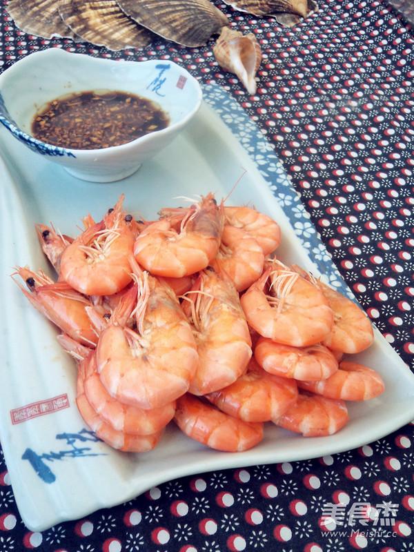 水煮虾成品图