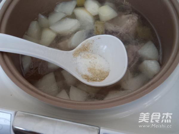 排骨白萝卜汤怎么煮