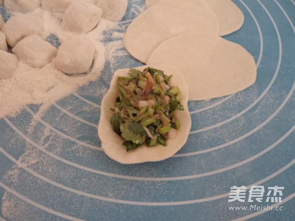 香菜猪肉馅水饺怎么做