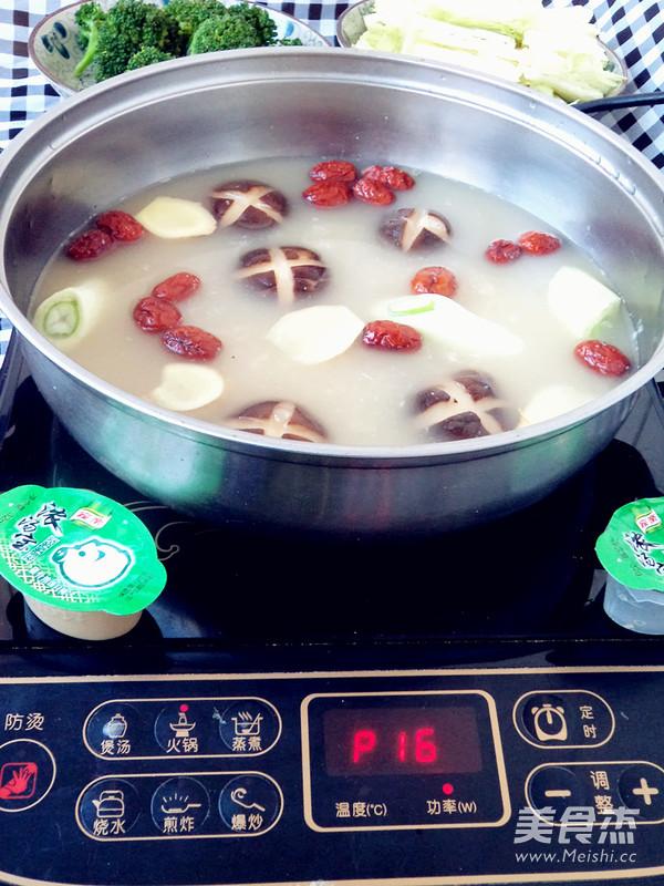 浓汤宝滋补火锅怎么煮