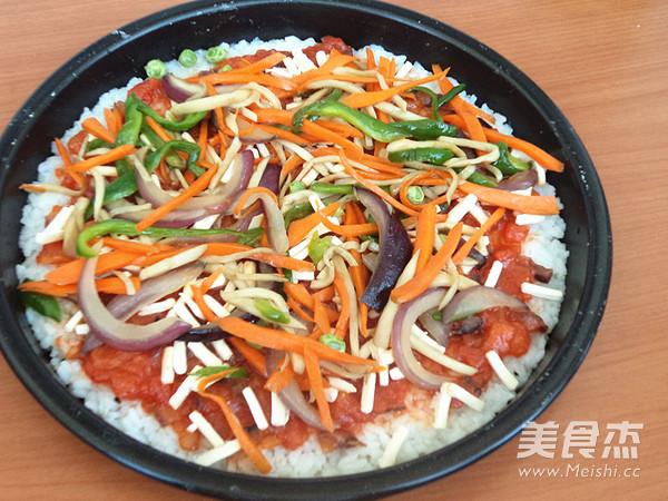 米饭披萨怎么煸