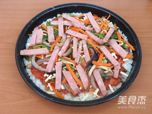 米饭披萨怎样煸