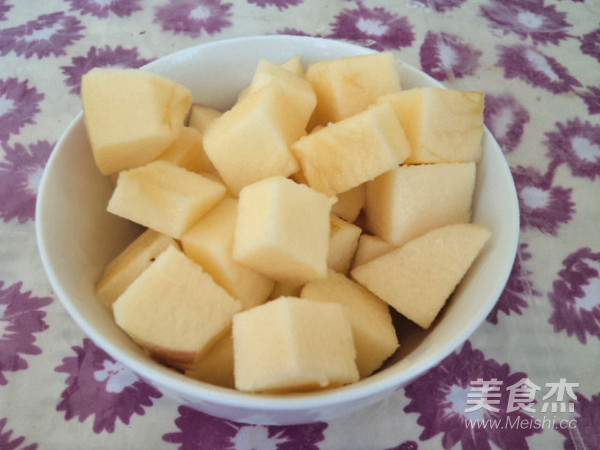 苹果燕麦粥怎么炒