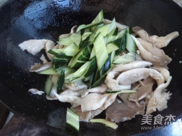 平菇炒黄瓜怎么做