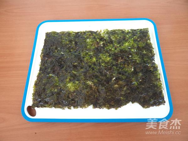 海苔蛋包饭的简单做法