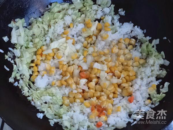 炒米饭怎么做