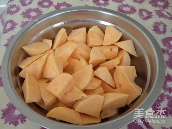 桂圆红薯粥的简单做法