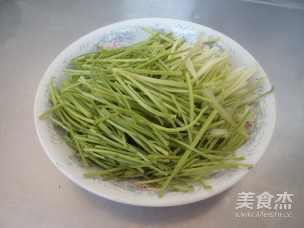 肉丝炒香菜杏鲍菇怎么吃