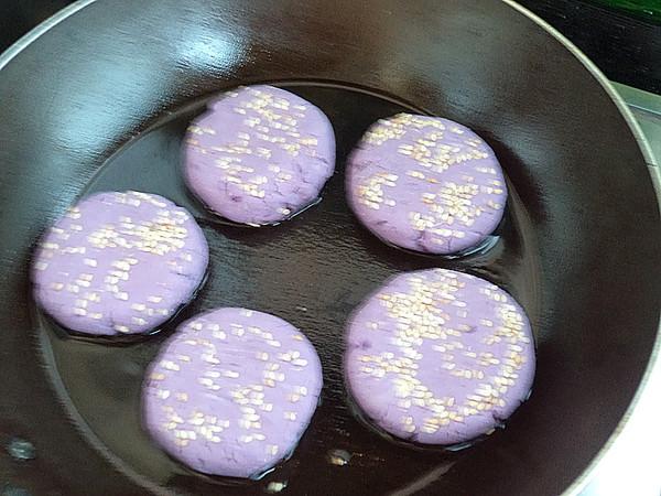紫薯糯米饼怎么炖