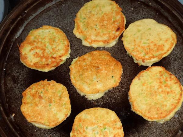瓜皮豆渣鸡蛋饼怎么煮