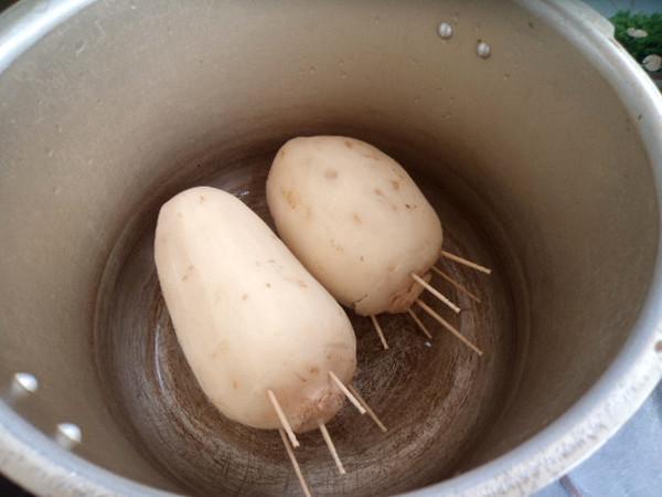 蜜汁糯米藕怎么做