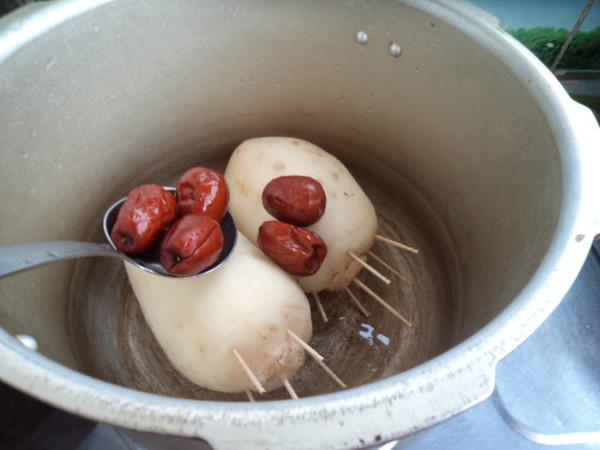 蜜汁糯米藕怎么炒